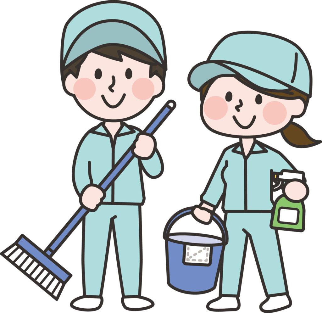 【経験談】大型スーパーで清掃員の仕事をしていた時の話【バイト】