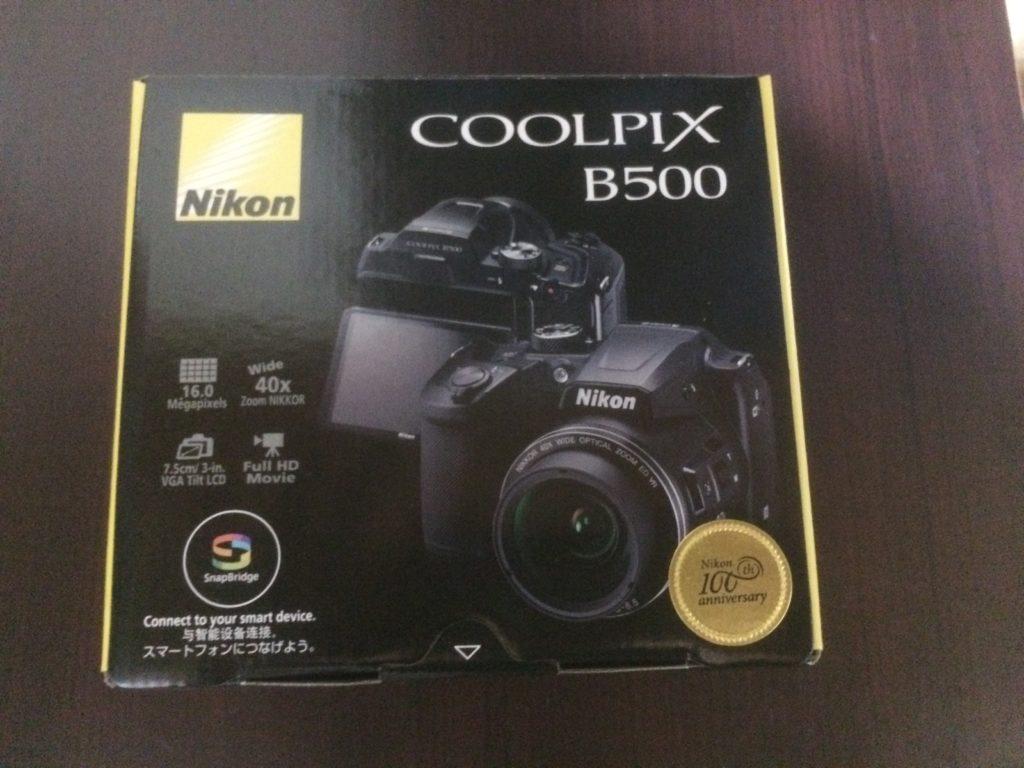 Nikon(ニコン)のデジカメ『COOLPIX B500』を購入しました!