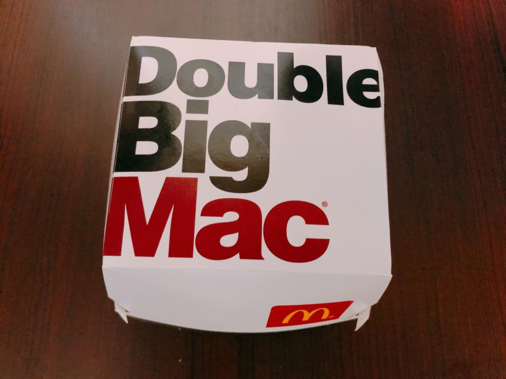 【マクドナルド】夜マック!倍ビッグマックを食べてみました!【感想・レビュー】