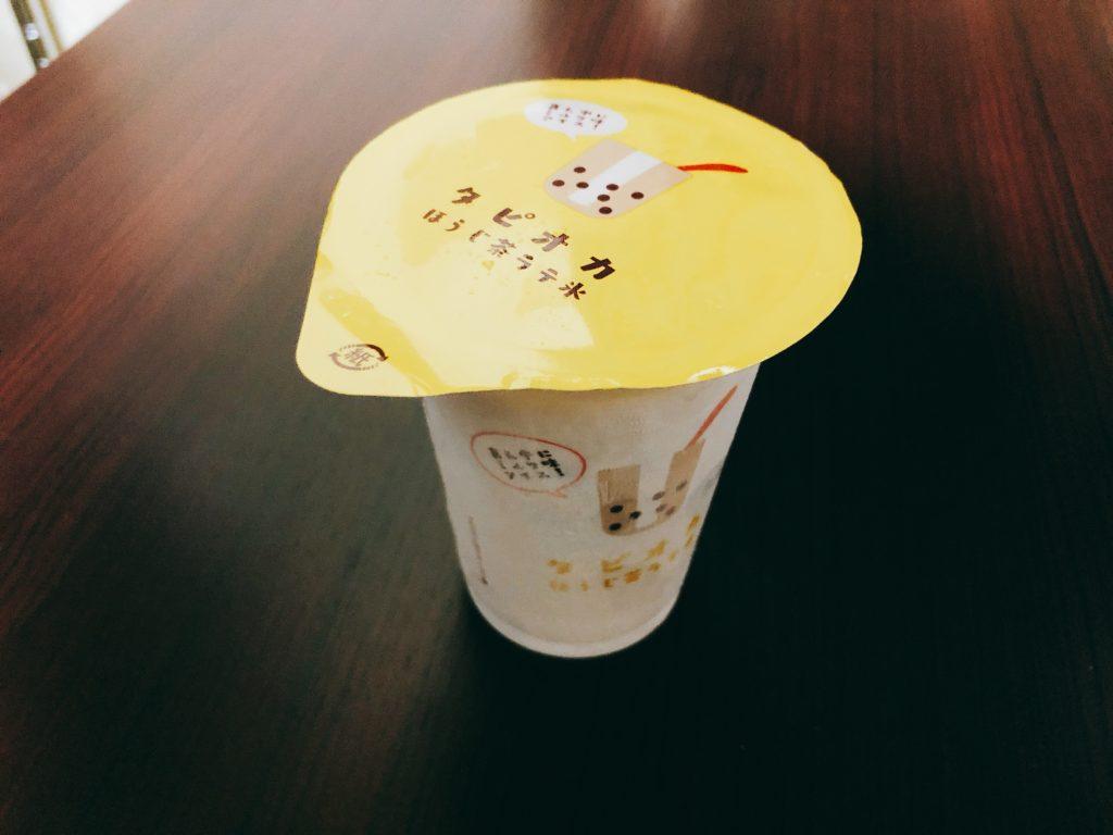 【ファミマ】タピオカアイス!『タピオカほうじ茶ラテ氷』の感想・レビュー